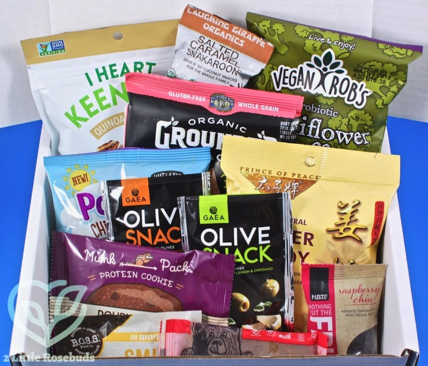 SnackSack November 2017 Vegan Subscription Box Review & Coupon Code