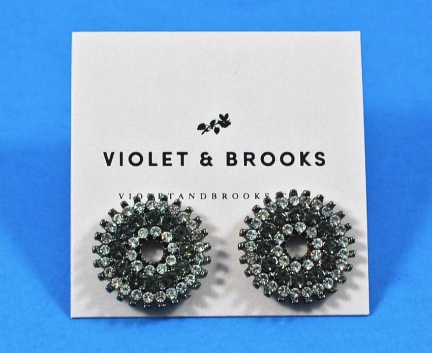 Violet + Brooks earrings