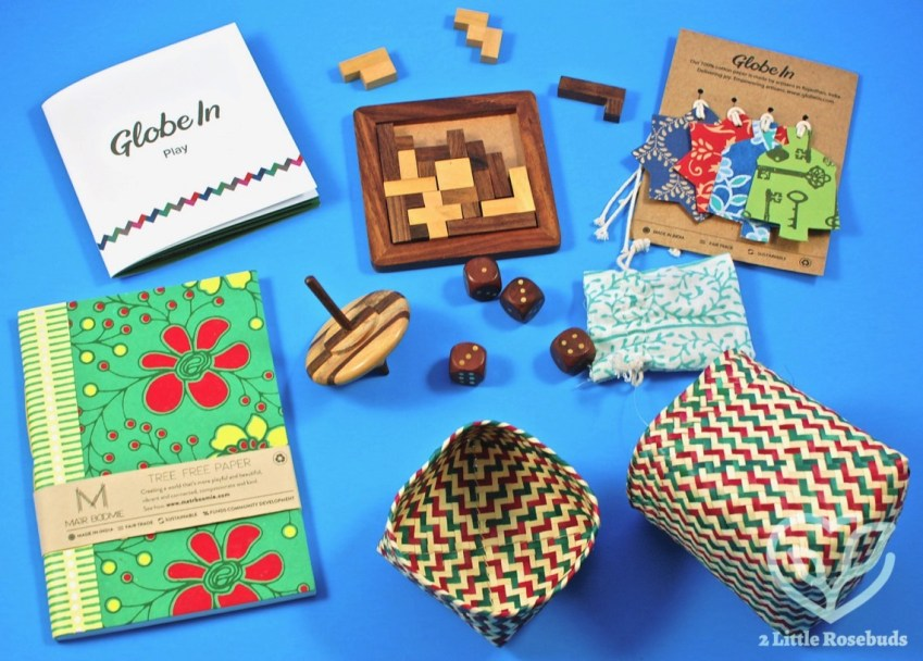"GlobeIn Artisan Box December 2017 ""Play"" Box Review & Coupon Code"