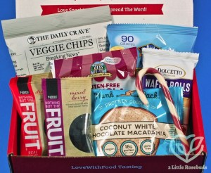 December 2017 Love With Food review