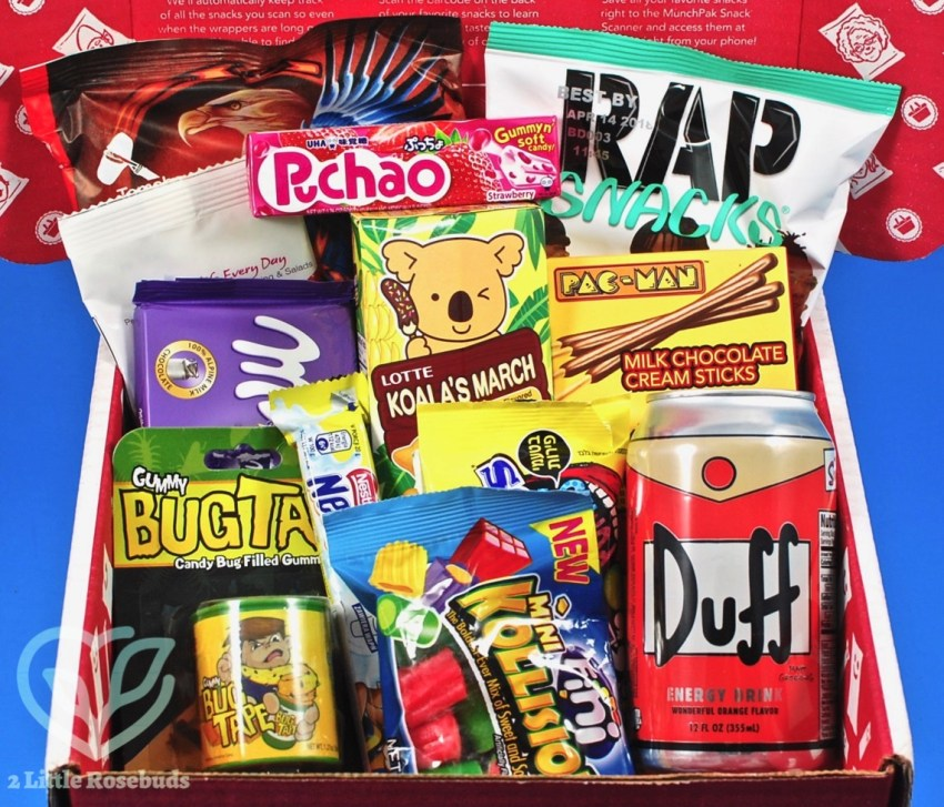 MunchPak November 2017 Subscription Box Review & Coupon Code
