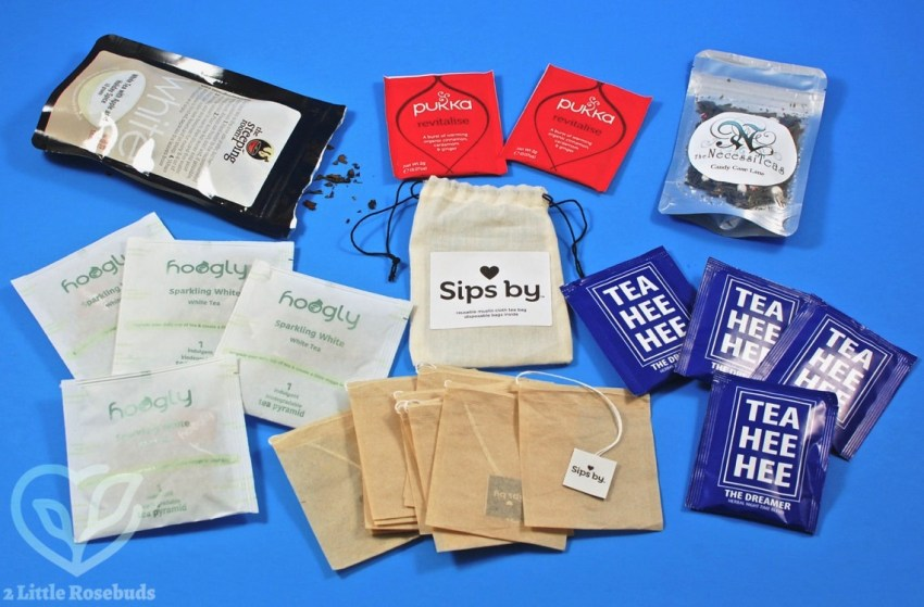 Sips By December 2017 Tea Subscription Box Review & Coupon Code