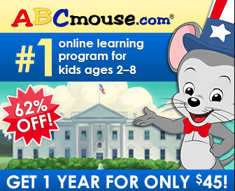 ABC Mouse President's Day Sale – One Year Subscription for Just $45 (50% Off!)