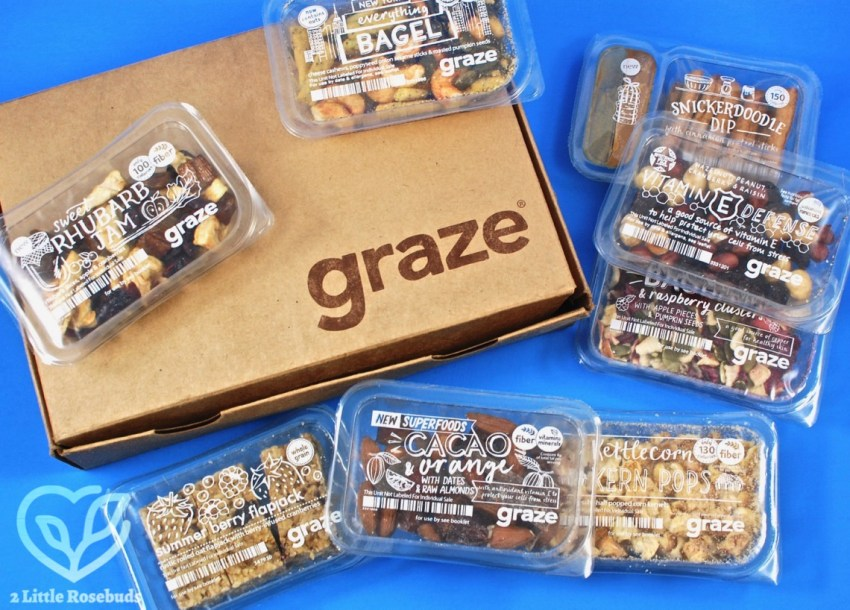 Graze January 2018 Snack Subscription Box Review & First Box FREE