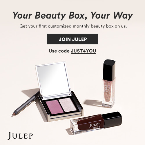 Julep FREE Build Your Own Beauty Box with New Subscription