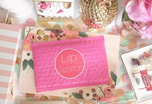 Lip Service subscription box