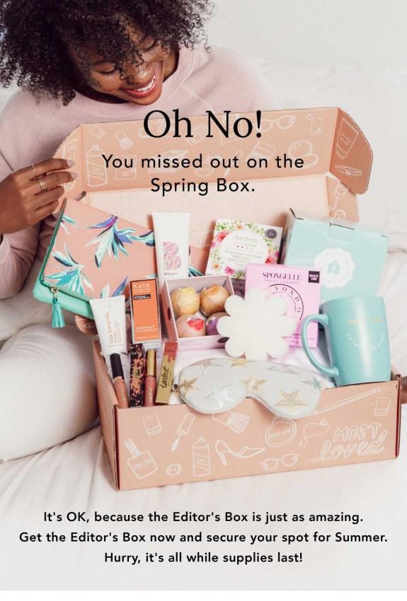 FabFitFun Spring 2018 Editor's Box Full Spoilers & $10 Coupon Code