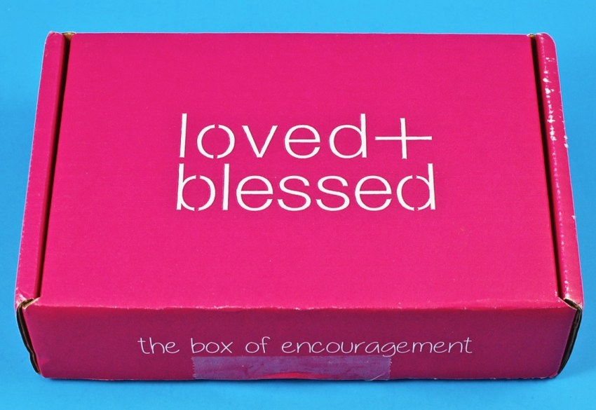 Loved and Blessed box