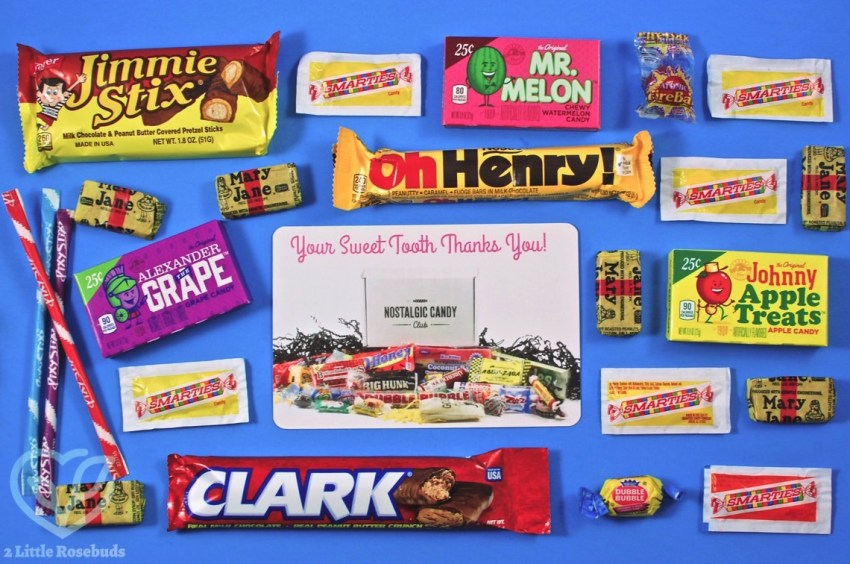 Nostalgic Candy Club April 2018 Subscription Box Review & Coupon Code
