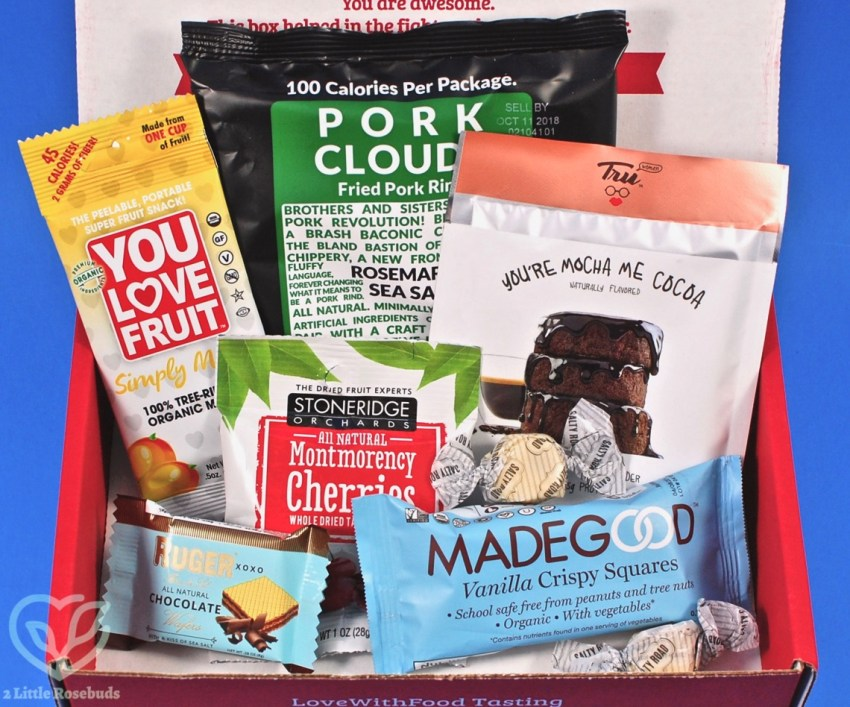 Love With Food May 2018 Subscription Box Review & $10 Coupon Code