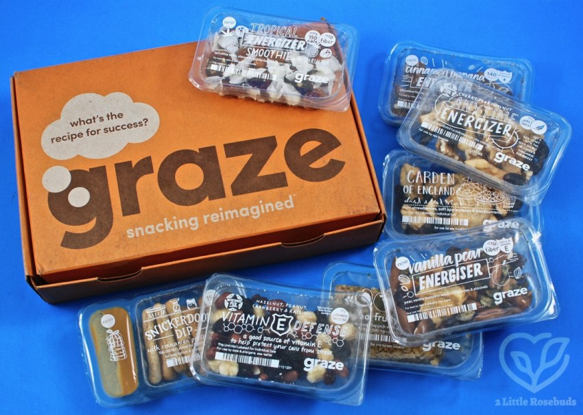 Graze June 2018 Snack Subscription Box Review & First Box FREE