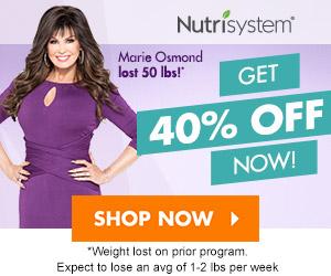 Nutrisystem - Get 40% off now!