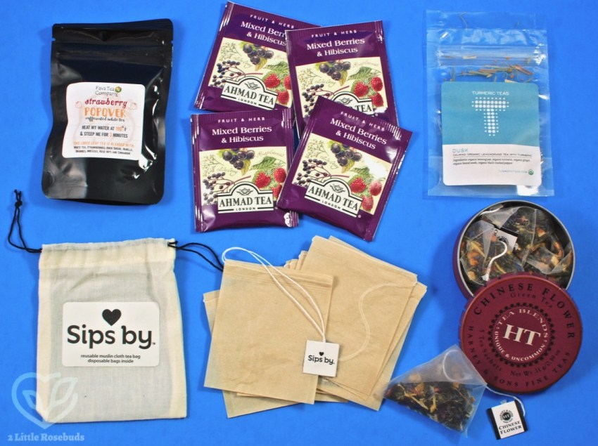 Sips By July 2018 Tea Subscription Box Review & Coupon Code