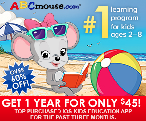ABC Mouse Labor Day 2018 Sale – One Year Subscription for Just $45 (Over 60% Off!)