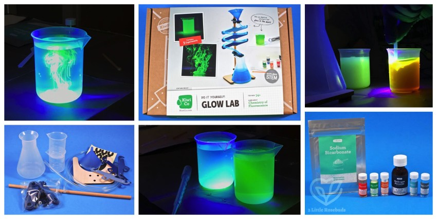 KiwiCo Glow Lab Chemistry Crate Review & Coupon Code