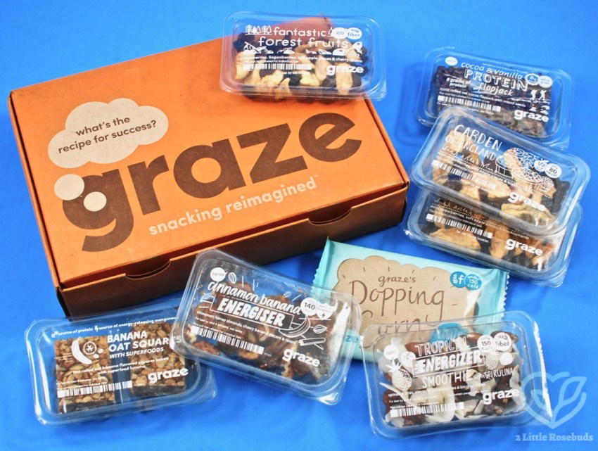 Graze August 2018 Snack Subscription Box Review & First Box FREE