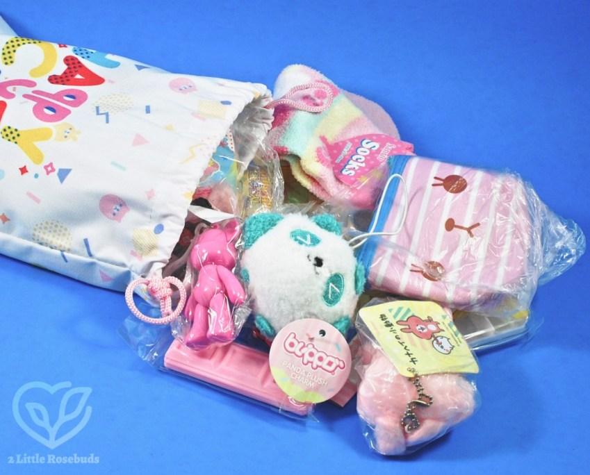 Happy Cute Surprise Bag August 2018 Subscription Box Review & Giveaway!