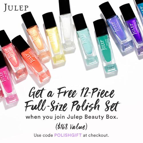 Julep free full size polish gift set
