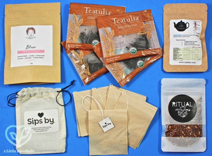 Sips By August 2018 Tea Subscription Box Review & Coupon Code
