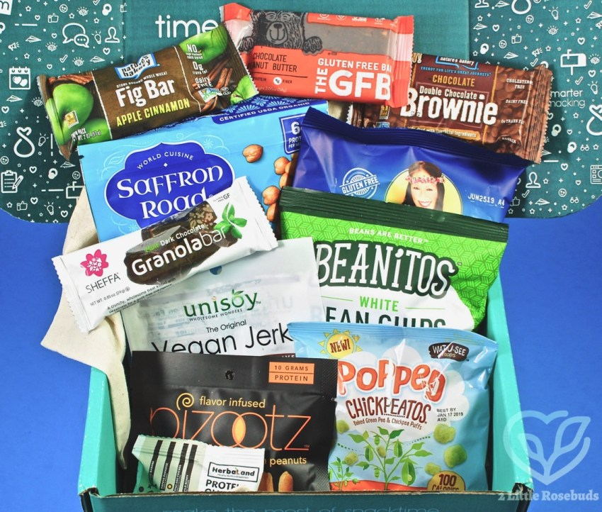 SnackSack August 2018 Vegan Subscription Box Review & Coupon Code