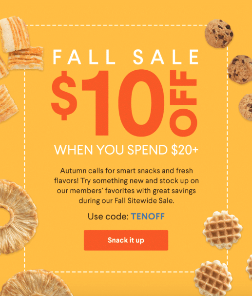 Naturebox Fall 2018 Coupon Code – $10 Off Your First Order or FREE Trial Box