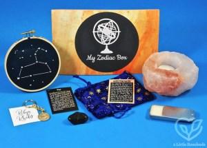 September 2018 My Zodiac Box review