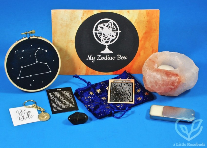 September 2018 My Zodiac Box review