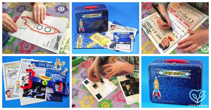 Space Scouts Months 1 & 2 Children's Subscription Box Review & Coupon Code