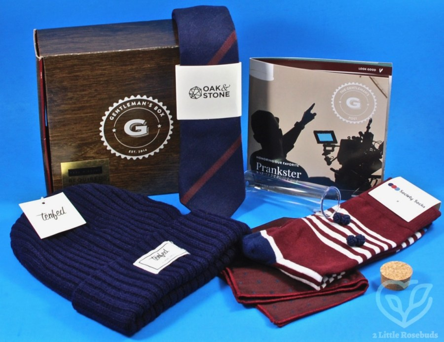 December 2018 Gentleman's Box review