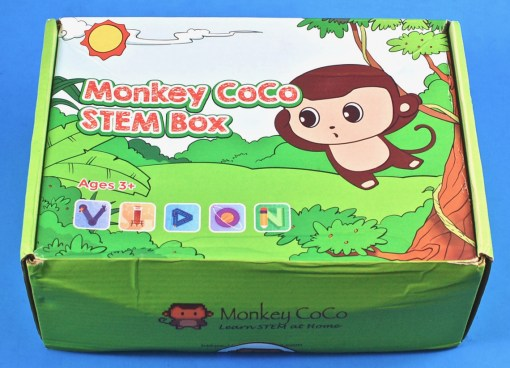 Monkey Coco box