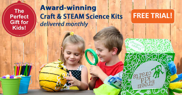 green kid crafts free