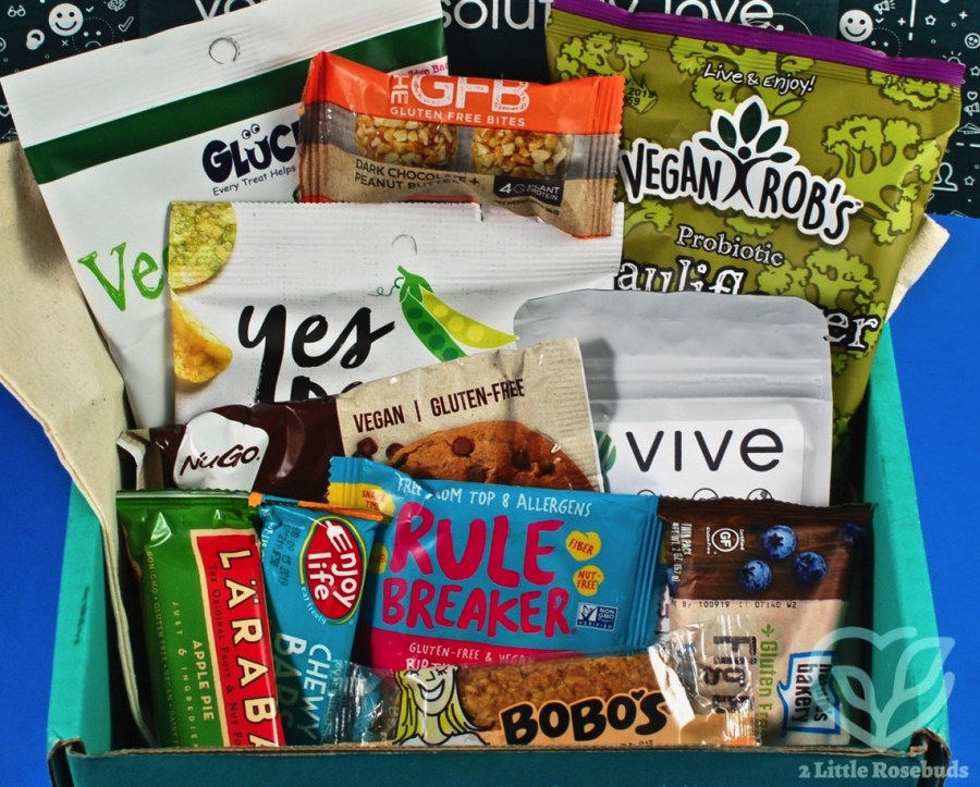May 2019 vegan SnackSack review
