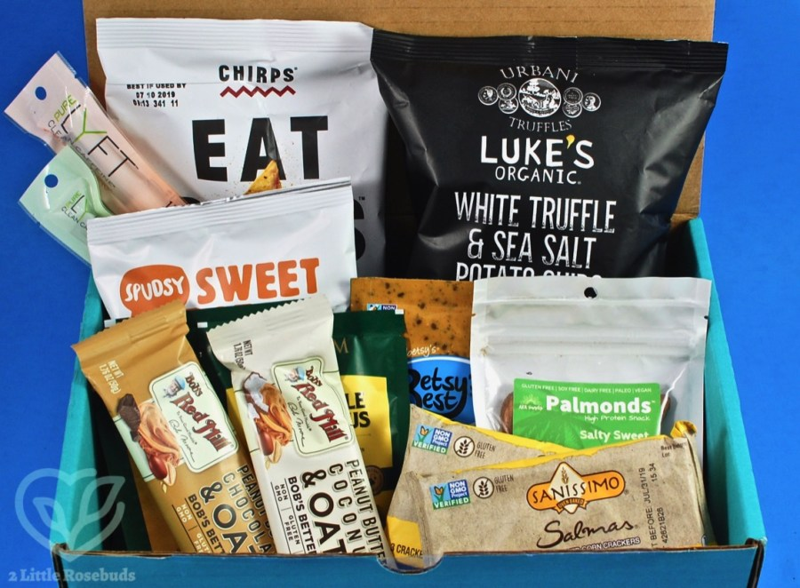June 2019 Fit Snack review