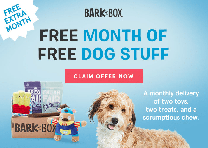 barkbox coupon free