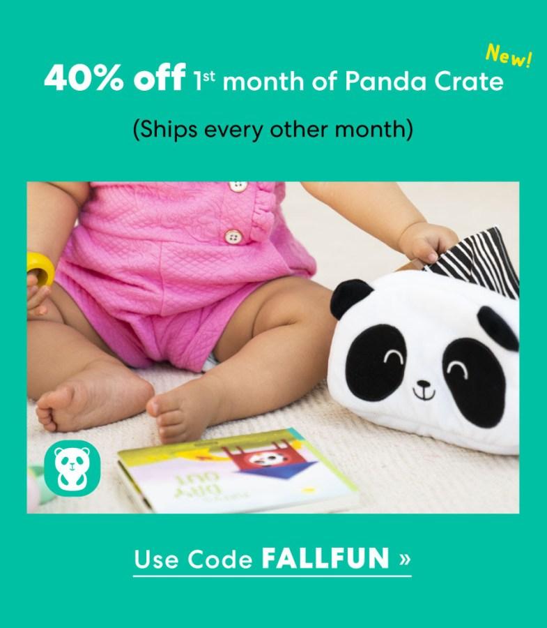 panda crate coupon