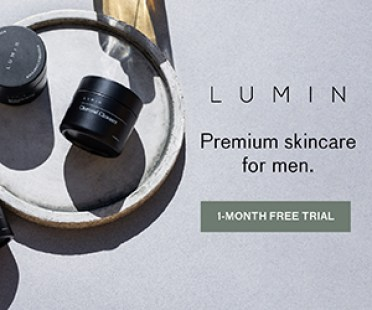Lumin skincare for men free 1 month trial