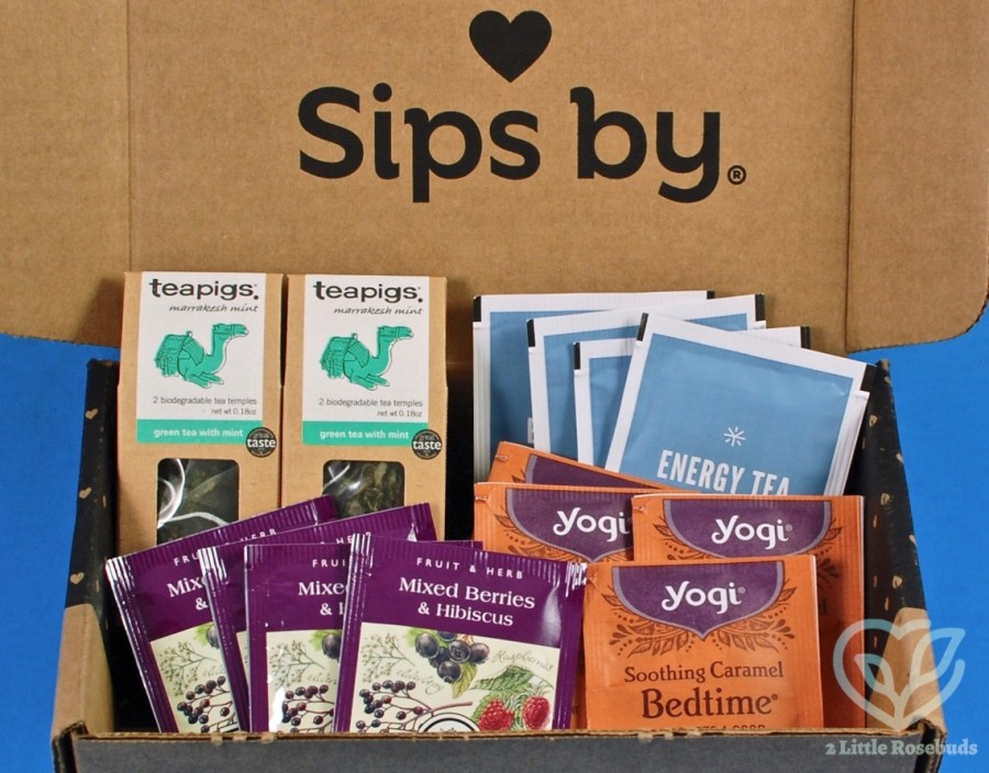 July 2020 Sips By review