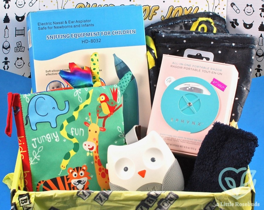 123 Baby Box January 2021 review