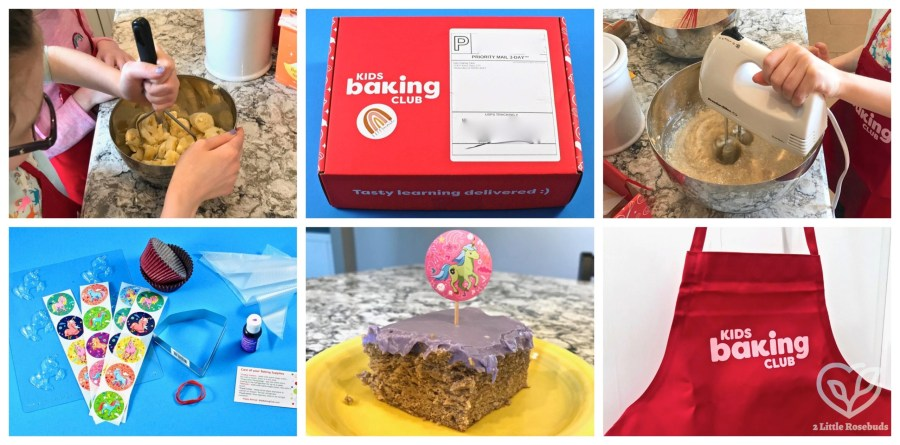 Kids Baking Club March 2021 review