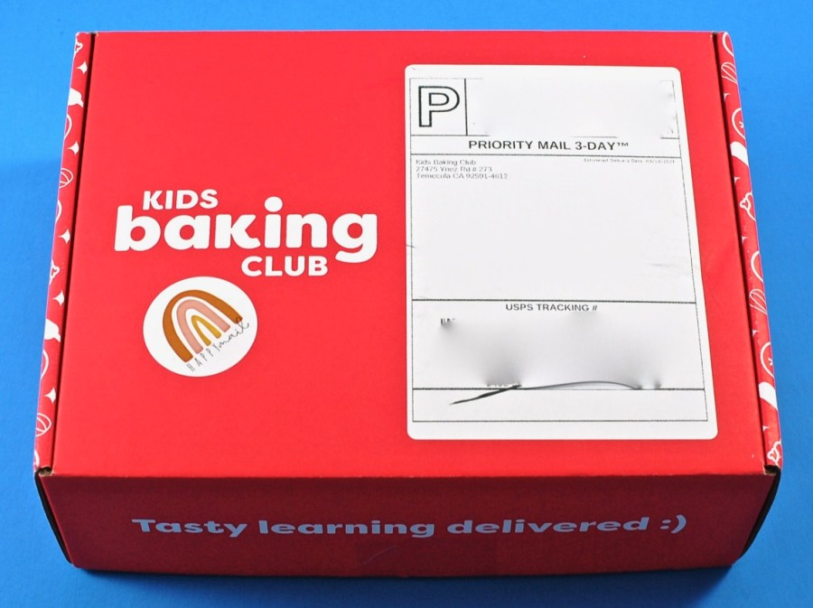 Kids Baking Club box