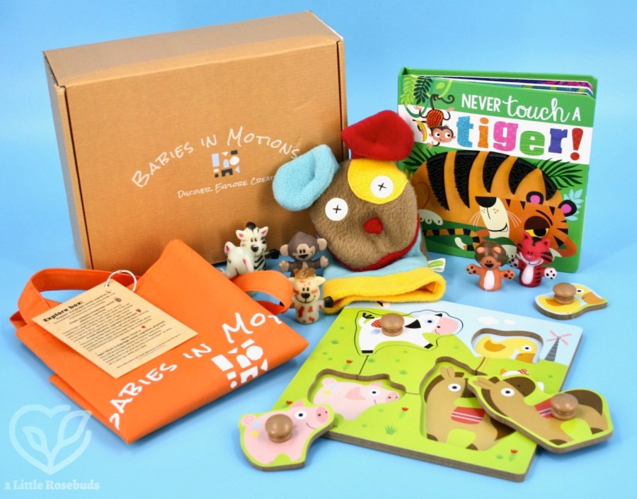 Babies in Motions September 2021 box review