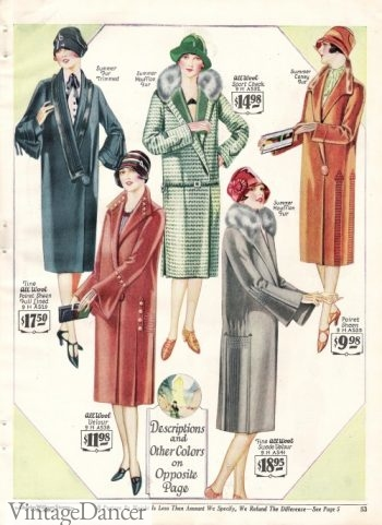 1920s coats, cocoon coats for spring