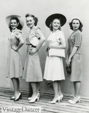 1940s Fashion  What Did Women Wear in the 1940s  1940s Day Fashion