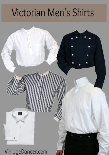 Men's Victorian Costume and Clothing Guide