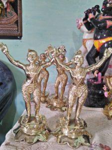 Gaura Nitai Metal Deity 12 Inches