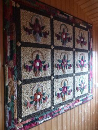 another of Móðir's beautiful quilts