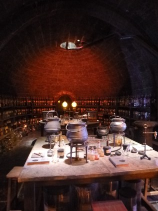 the potions classroom was super cool