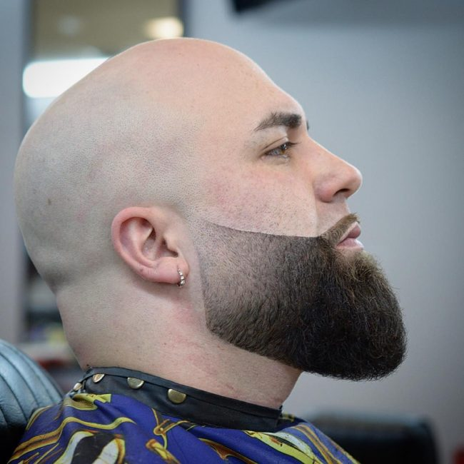 Clean Shave Hairstyle