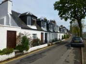 Row Houses beside the River Ness.