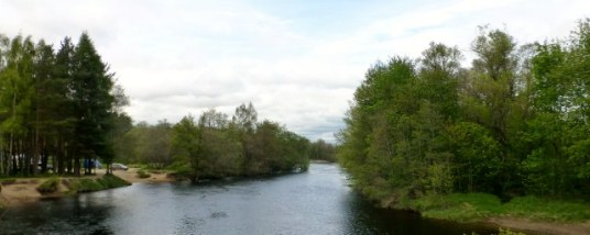 View from Spey Bridge.
